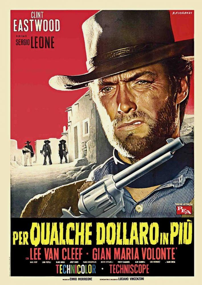 For a Few Dollars More Clint Eastwood Movie Poster 3, Movie Poster, Poster Satış, all posters, kanvas tablo, canvas print sales