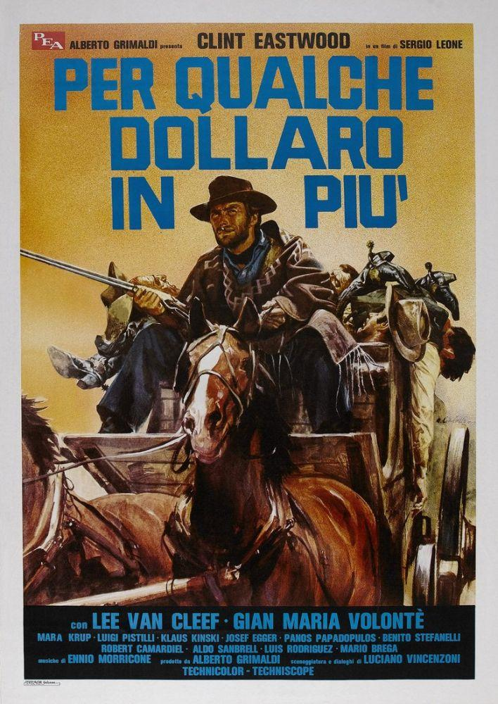 For a Few Dollars More Clint Eastwood Movie Poster 7, Movie Poster, Poster Satış, all posters, kanvas tablo, canvas print sales