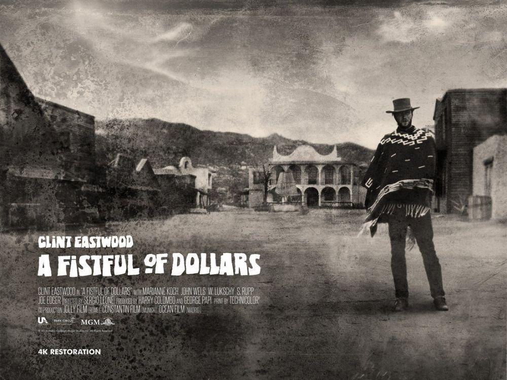 Birkaç Dolar İçin Clint Eastwood Film Posteri 11, Film Posteri, Poster Satış, all posters, kanvas tablo, canvas print sales
