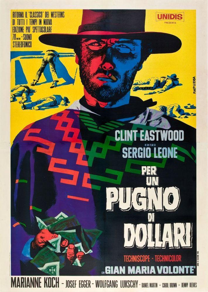 Birkaç Dolar İçin Clint Eastwood Film Posteri 13, Film Posteri, Poster Satış, all posters, kanvas tablo, canvas print sales