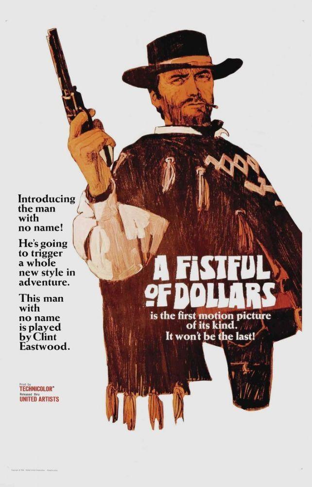 Birkaç Dolar İçin Clint Eastwood Film Posteri 14, Film Posteri, Poster Satış, all posters, kanvas tablo, canvas print sales