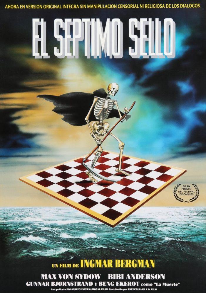 The Seventh Seal Movie Poster, Movie Poster, Poster Satış, all posters, kanvas tablo, canvas print sales