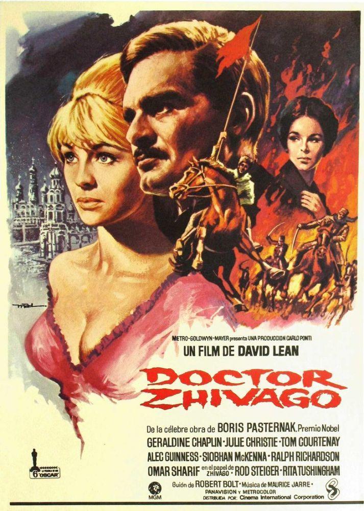 Doctor Zhivago Movie Poster 2, Movie Poster, Poster Satış, all posters, kanvas tablo, canvas print sales