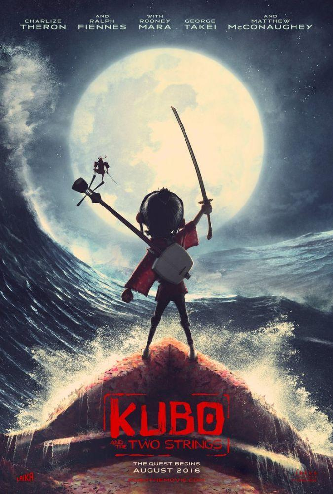 Kubo and the Two Strings Movie Poster 2, Movie Poster, Poster Satış, all posters, kanvas tablo, canvas print sales