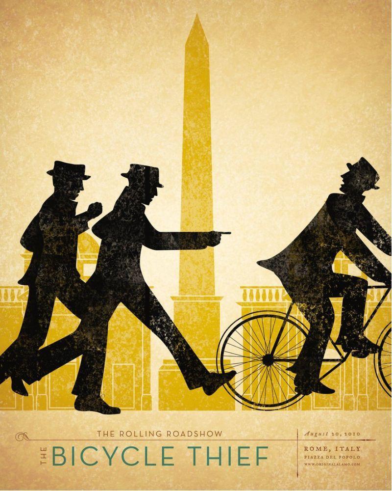 Bicycle Thieves Movie Poster, Movie Poster, Poster Satış, all posters, kanvas tablo, canvas print sales