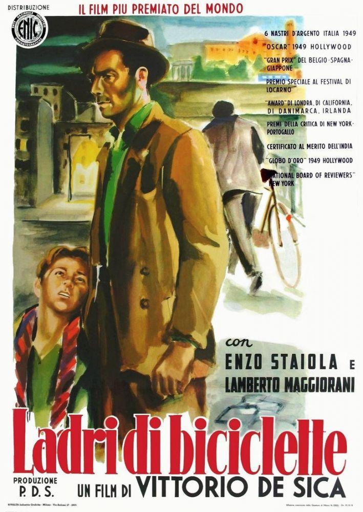Bicycle Thieves Movie Poster 2, Movie Poster, Poster Satış, all posters, kanvas tablo, canvas print sales