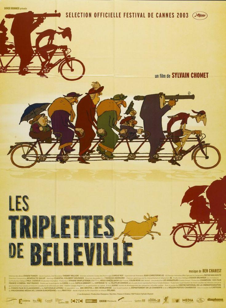 The Triplets of Belleville  Movie Poster, Movie Poster, Poster Satış, all posters, kanvas tablo, canvas print sales