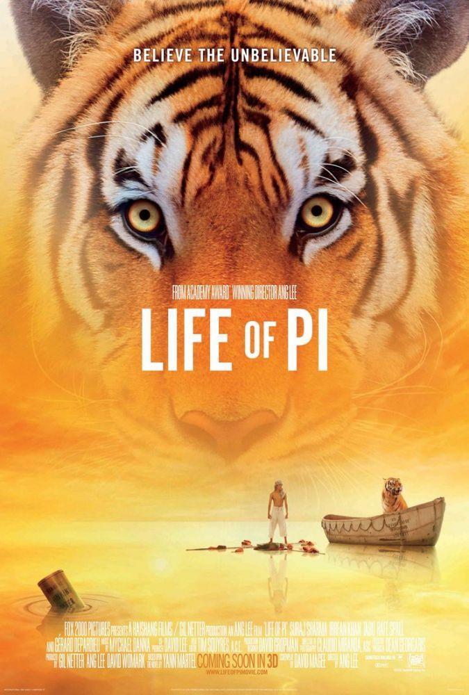 Life of Pi Movie Poster 2, Movie Poster, Poster Satış, all posters, kanvas tablo, canvas print sales