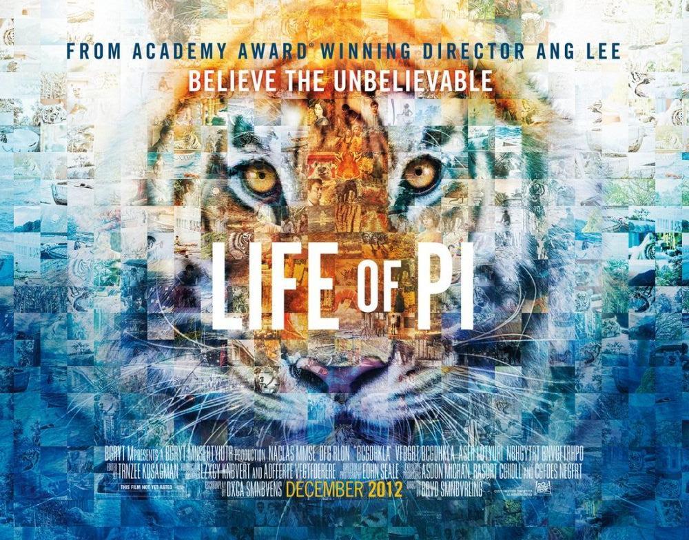 Pi nin Yaşamı Film Posteri 4, Film Posteri, Poster Satış, all posters, kanvas tablo, canvas print sales