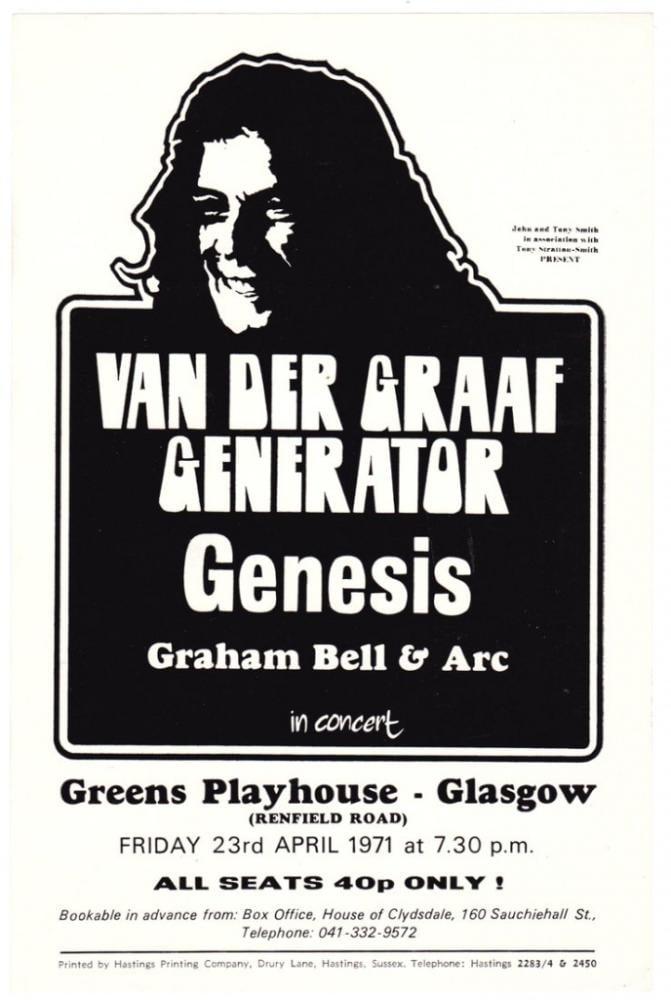 Van der Graaf Generator Poster, Music, Poster Satış, all posters, kanvas tablo, canvas print sales