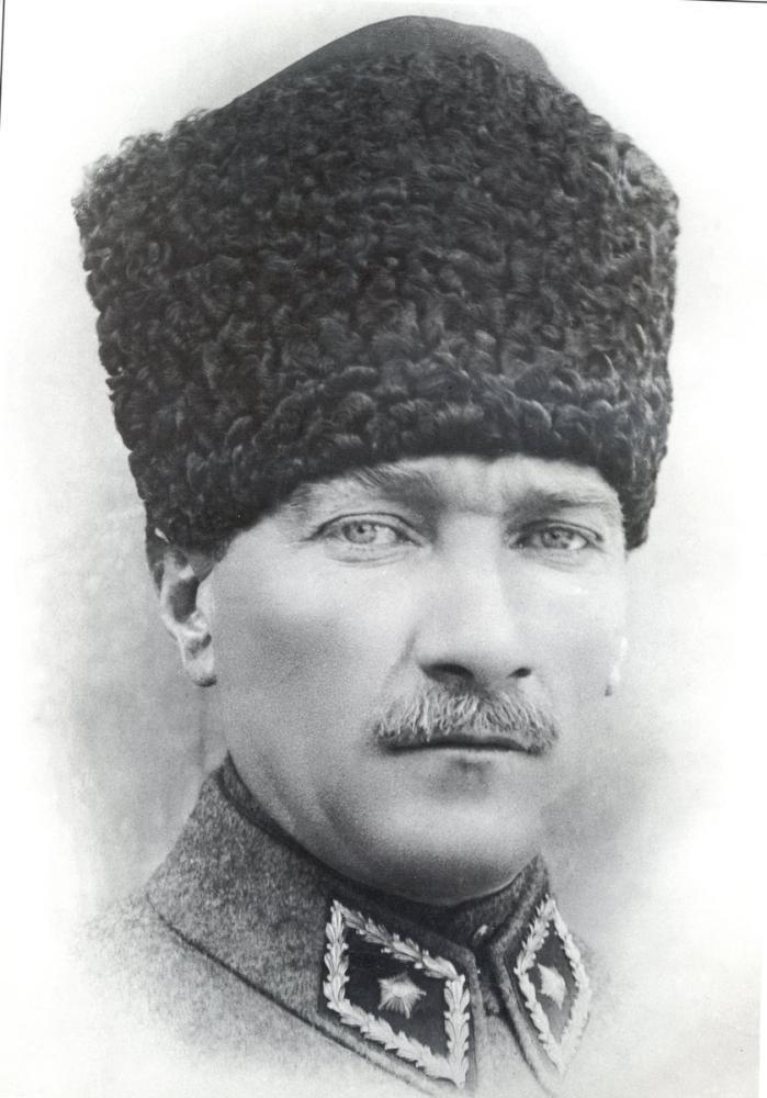 Mustafa Kemal Atatürk, Kalpaklı Portresi, Mustafa Kemal Atatürk, Poster Satış, all posters, kanvas tablo, canvas print sales