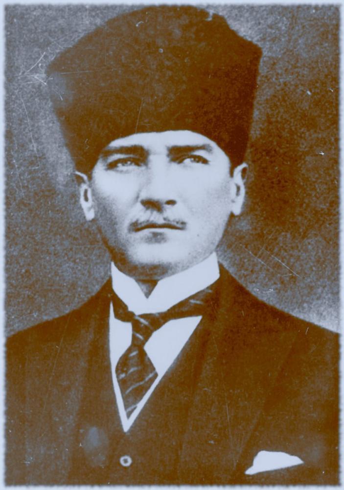 Mustafa Kemal Atatürk, Portrait 46, Mustafa Kemal Atatürk, Poster Satış, all posters, kanvas tablo, canvas print sales