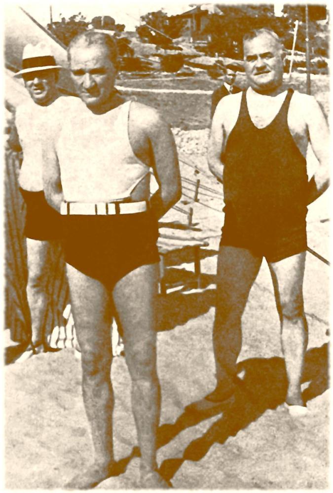 Mustafa Kemal Atatürk, Salih Bozok and Kılıç Ali are on the Florya Coast, Mustafa Kemal Atatürk, Poster Satış, all posters, kanvas tablo, canvas print sales