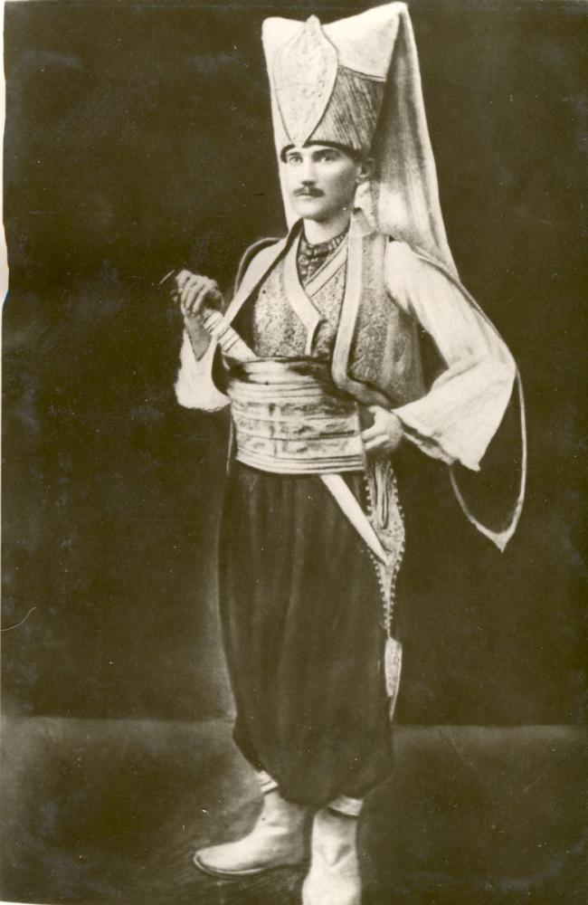 Mustafa Kemal Atatürk, Yeniçeri Kıyafetiyle, Mustafa Kemal Atatürk, Poster Satış, all posters, kanvas tablo, canvas print sales