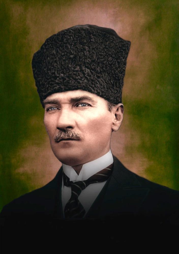 Mustafa Kemal Atatürk, Portre 14, Mustafa Kemal Atatürk, Poster Satış, all posters, kanvas tablo, canvas print sales