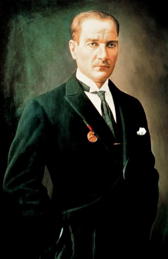 Mustafa Kemal Atatürk, Portrait 16, Mustafa Kemal Atatürk, Poster Satış, all posters, kanvas tablo, canvas print sales