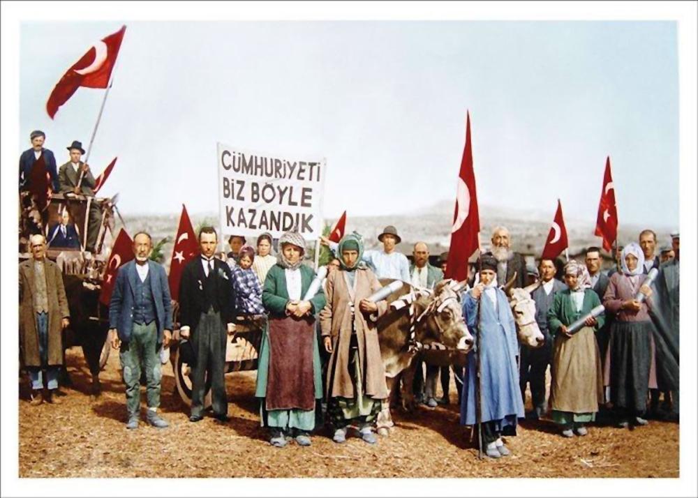 We Established the Republic Like this, We Won the Republic Like This, Mustafa Kemal Atatürk, Poster Satış, all posters, kanvas tablo, canvas print sales