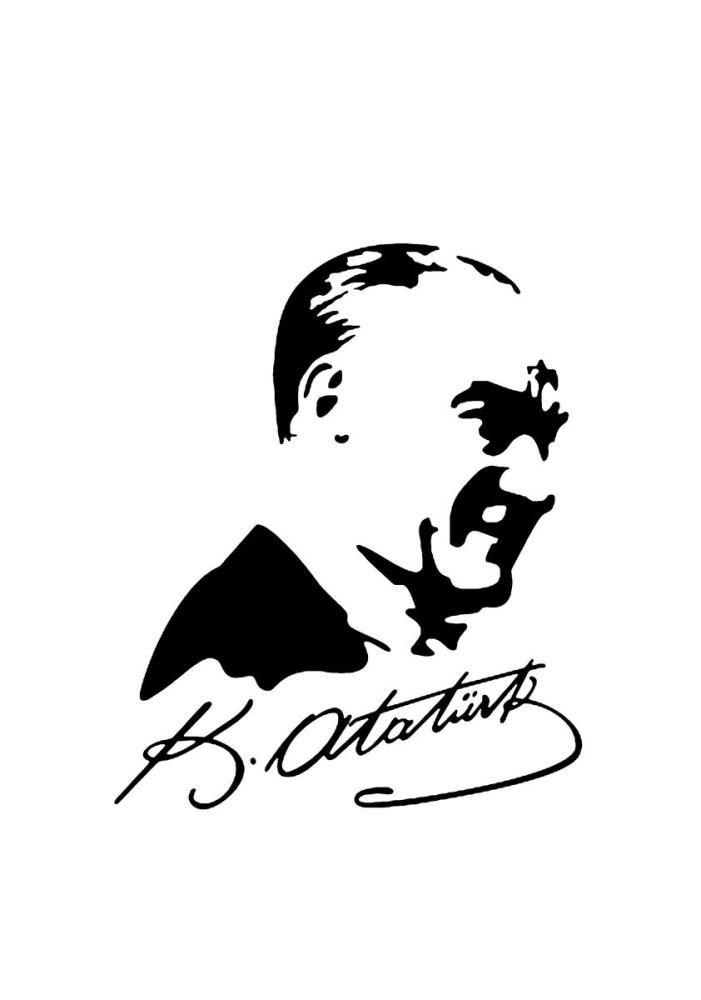 Mustafa Kemal Atatürk, Silüeti 2, Mustafa Kemal Atatürk, Poster Satış, all posters, kanvas tablo, canvas print sales