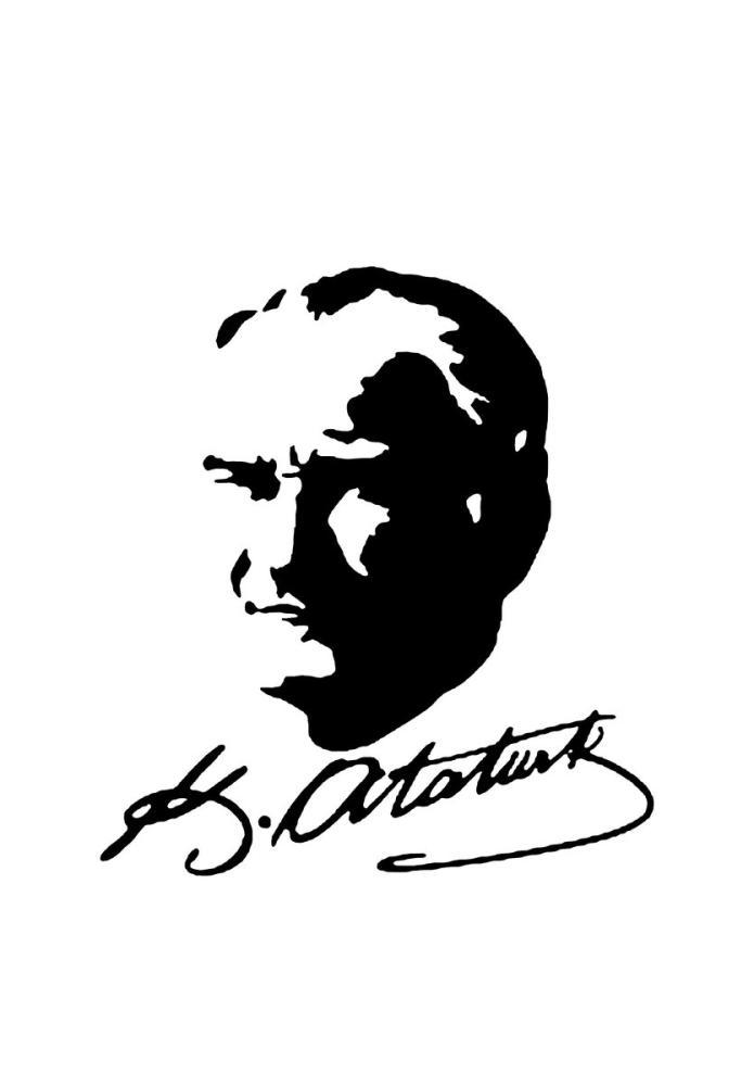 Mustafa Kemal Atatürk, Silüeti 7, Mustafa Kemal Atatürk, Poster Satış, all posters, kanvas tablo, canvas print sales
