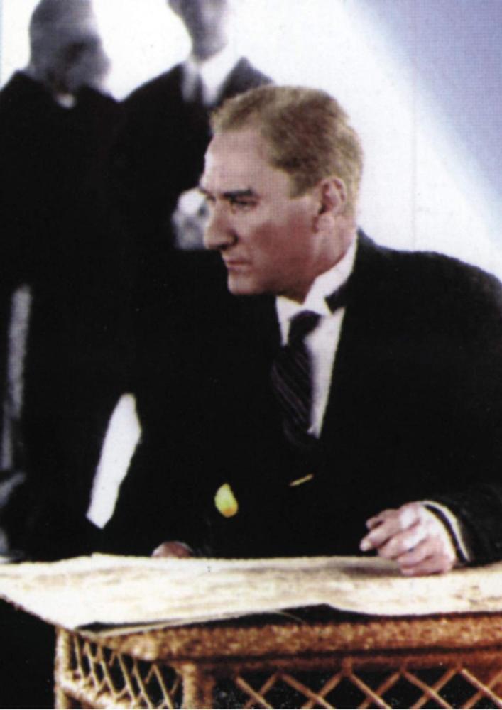 Mustafa Kemal Atatürk, Çalışırken, Mustafa Kemal Atatürk, Poster Satış, all posters, kanvas tablo, canvas print sales