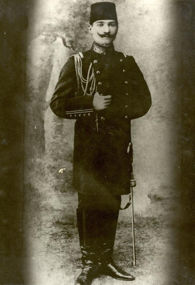 Mustafa Kemal Atatürk with the rank of Captain, Mustafa Kemal Atatürk, Poster Satış, all posters, kanvas tablo, canvas print sales