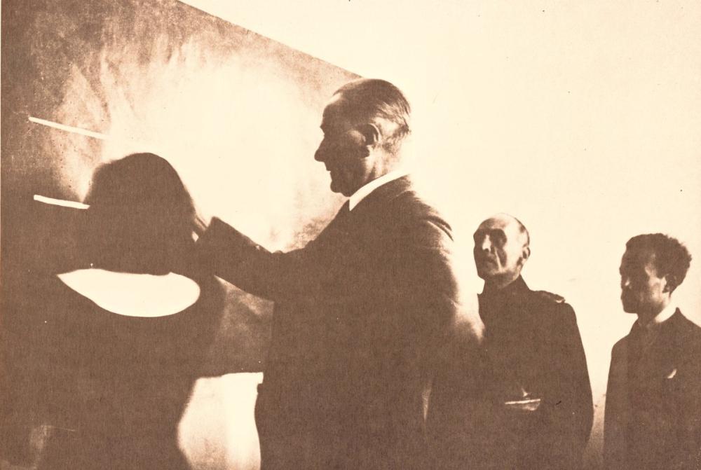 Mustafa Kemal Atatürk, Atatürk at Sivas High School, Mustafa Kemal Atatürk, Poster Satış, all posters, kanvas tablo, canvas print sales