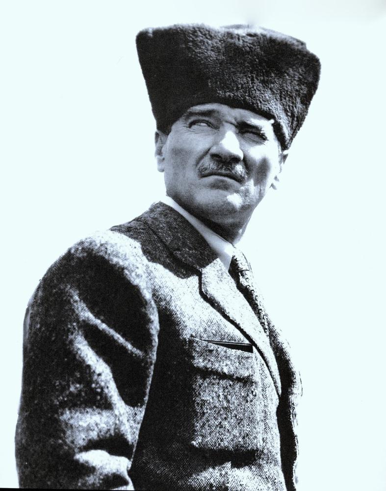 Mustafa Kemal Atatürk, Kalpaklı Portresi 29, Mustafa Kemal Atatürk, Poster Satış, all posters, kanvas tablo, canvas print sales