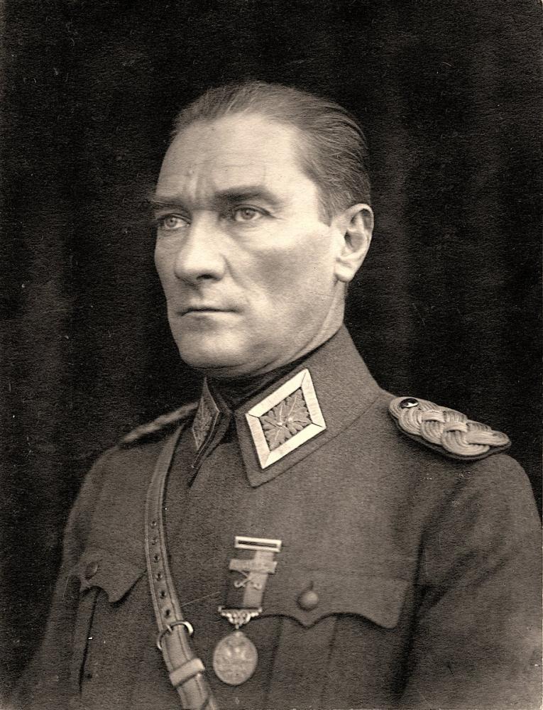 Mustafa Kemal Atatürk, Portrait II, Mustafa Kemal Atatürk, Poster Satış, all posters, kanvas tablo, canvas print sales