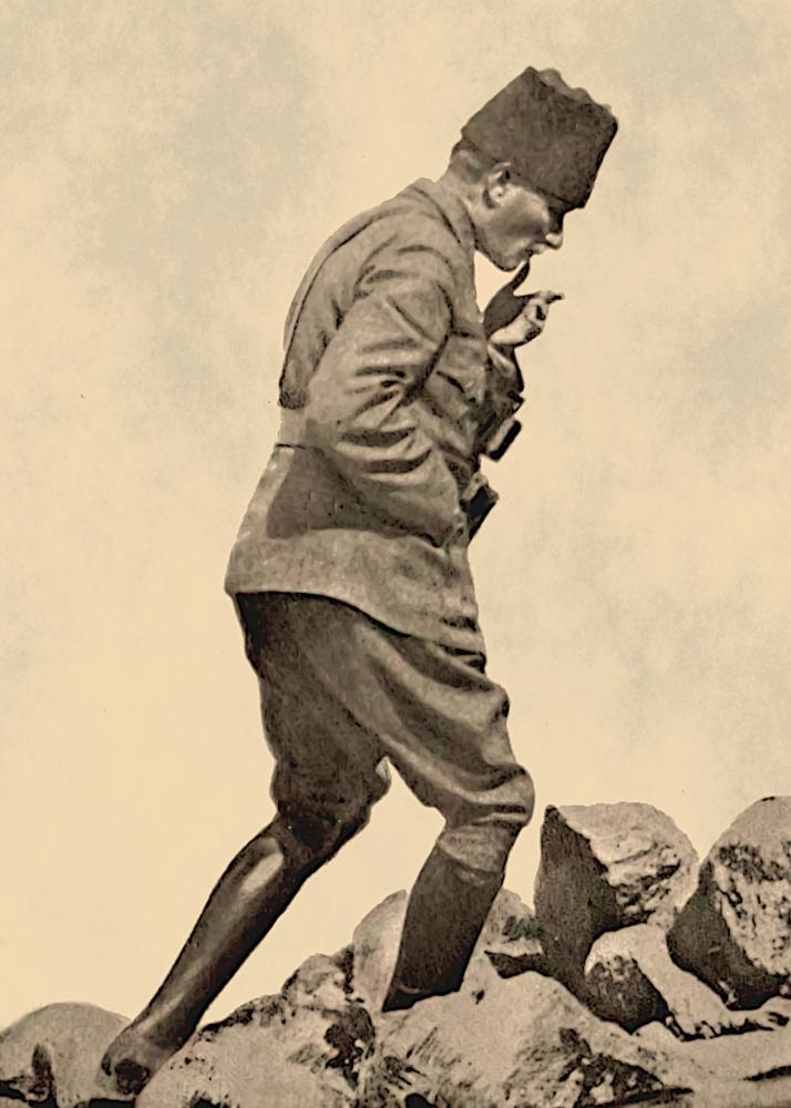 Mustafa Kemal Atatürk, Afyon Kocatepe Sırtlarında, Büyük Taarruz, Mustafa Kemal Atatürk, Poster Satış, all posters, kanvas tablo, canvas print sales
