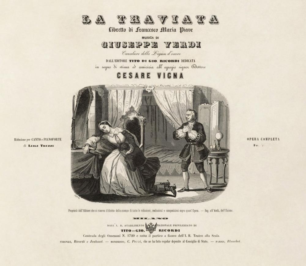 Giuseppe Verdi, La traviata Opera Posteri, Opera, Tiyatro, Poster Satış, all posters, kanvas tablo, canvas print sales