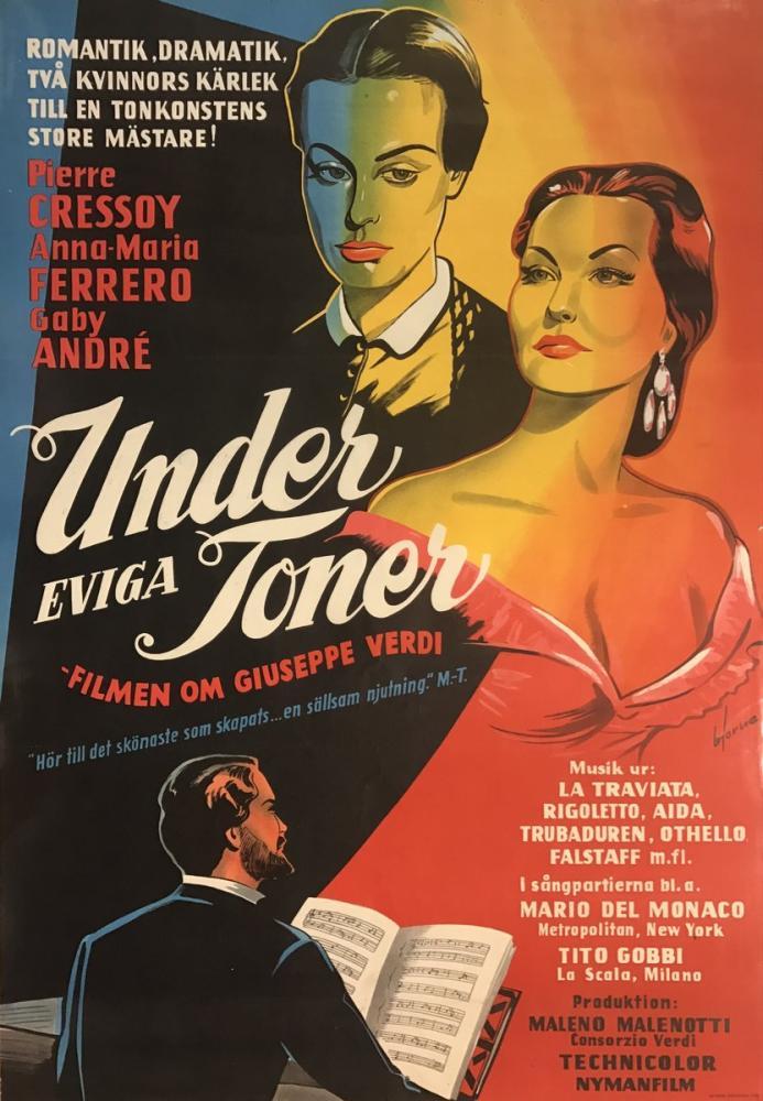 Giuseppe Verdi, Under Evaga Toner Poster, Opera, Theater, Poster Satış, all posters, kanvas tablo, canvas print sales