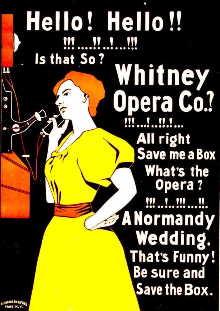 Hello, Hello Opera Poster, Opera, Theater, Poster Satış, all posters, kanvas tablo, canvas print sales