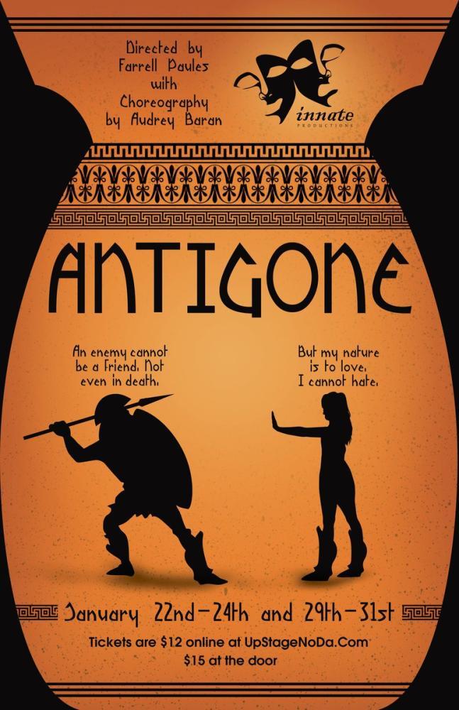 Antigone Theater Poster, Opera, Theater, Poster Satış, all posters, kanvas tablo, canvas print sales