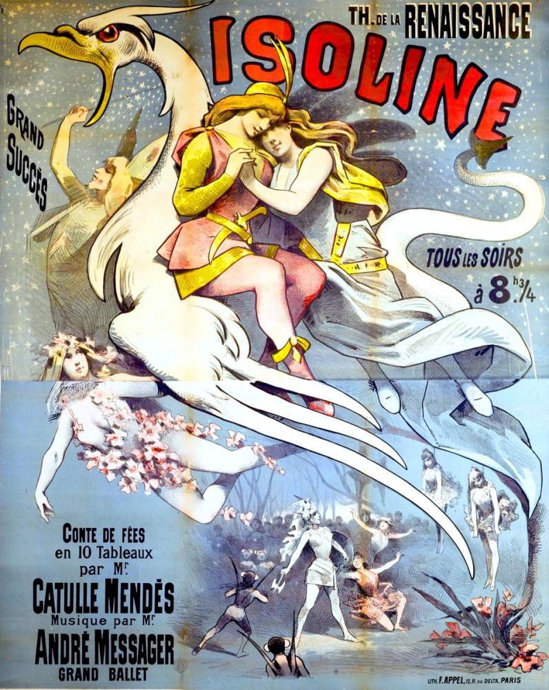 Isoline Poster, Opera, Theater, Poster Satış, all posters, kanvas tablo, canvas print sales
