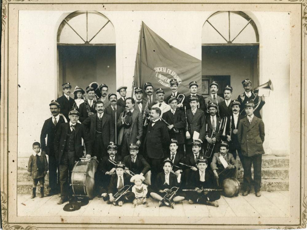 La Banda di Pomarance, 1914 Poster, Opera, Theater, Poster Satış, all posters, kanvas tablo, canvas print sales