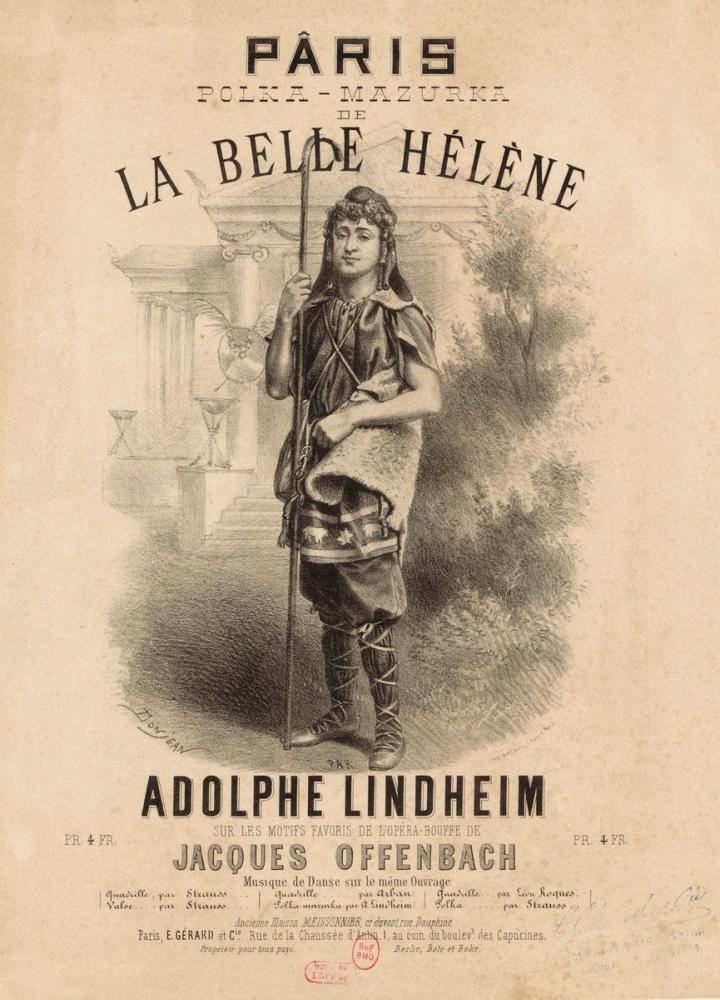 La Belle Helene Opera Poster, Opera, Theater, Poster Satış, all posters, kanvas tablo, canvas print sales