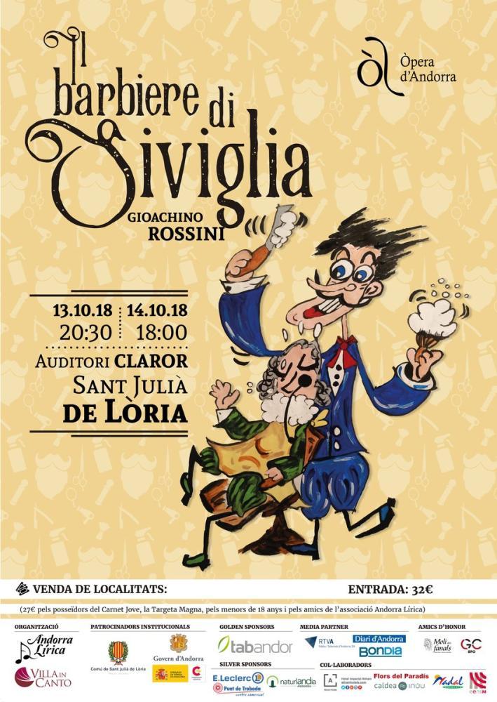La locandina del Barbiere di Siviglia Opera Poster, Opera, Theater, Poster Satış, all posters, kanvas tablo, canvas print sales