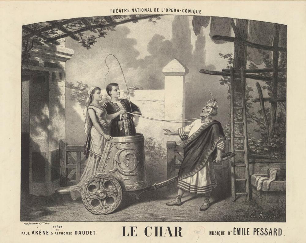 Le Char Posteri, Opera, Tiyatro, Poster Satış, all posters, kanvas tablo, canvas print sales