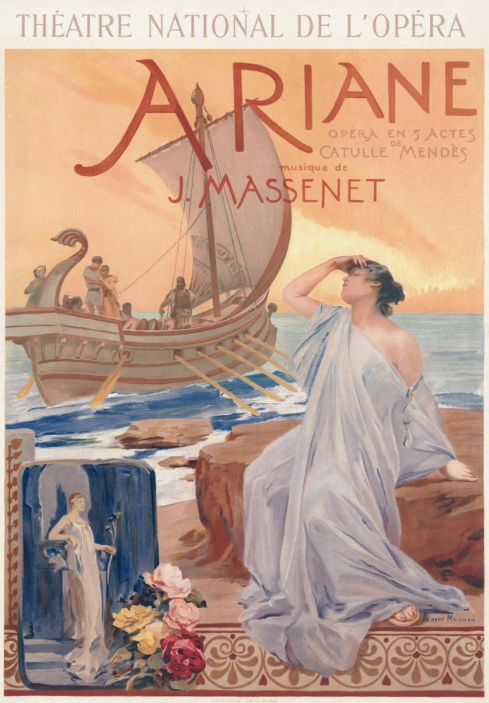 Ariane Opera Poster, Opera, Theater, Poster Satış, all posters, kanvas tablo, canvas print sales