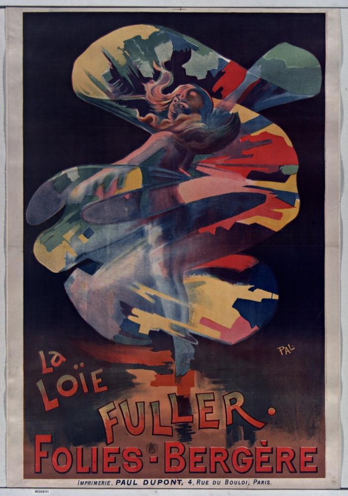 Loie Fuller, Folies Bergere Posteri, Opera, Tiyatro, Poster Satış, all posters, kanvas tablo, canvas print sales