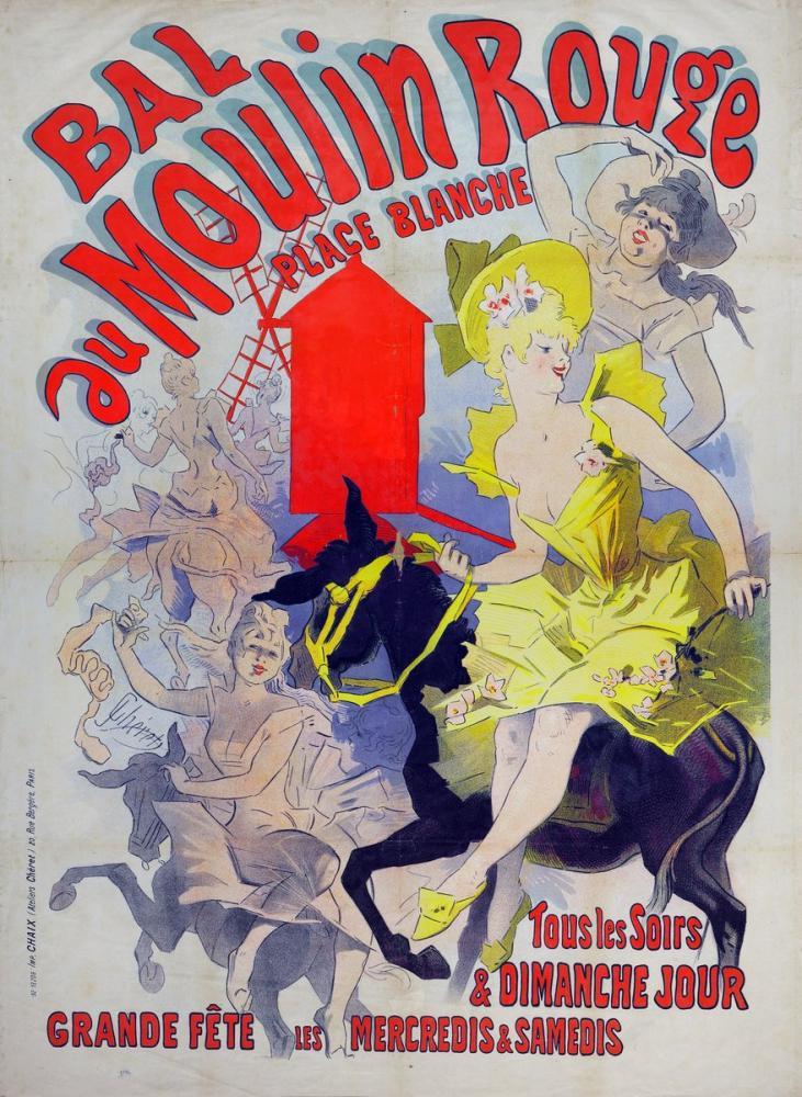 Bal au Moulin Rouge Posteri, Opera, Tiyatro, Poster Satış, all posters, kanvas tablo, canvas print sales