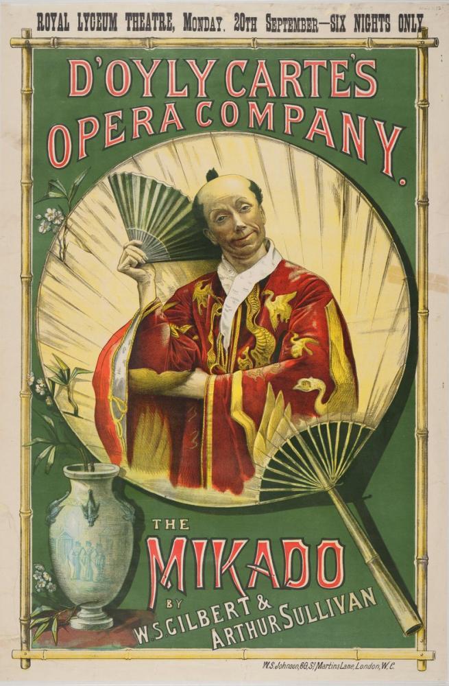 Mikado Opera Posteri, Opera, Tiyatro, Poster Satış, all posters, kanvas tablo, canvas print sales