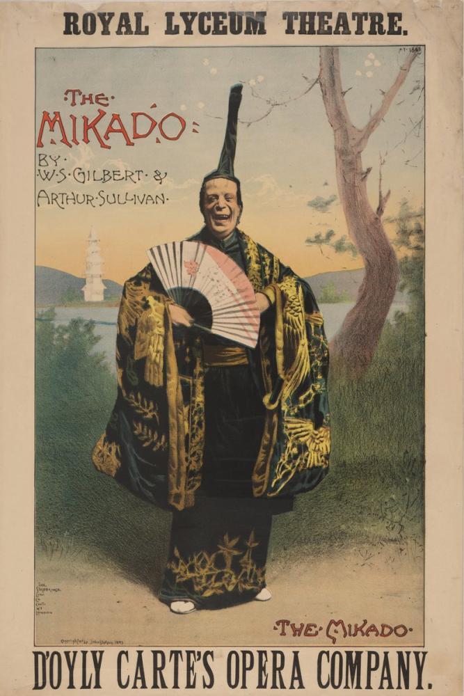 Mikado 3 Opera Posteri, Opera, Theater, Poster Satış, all posters, kanvas tablo, canvas print sales