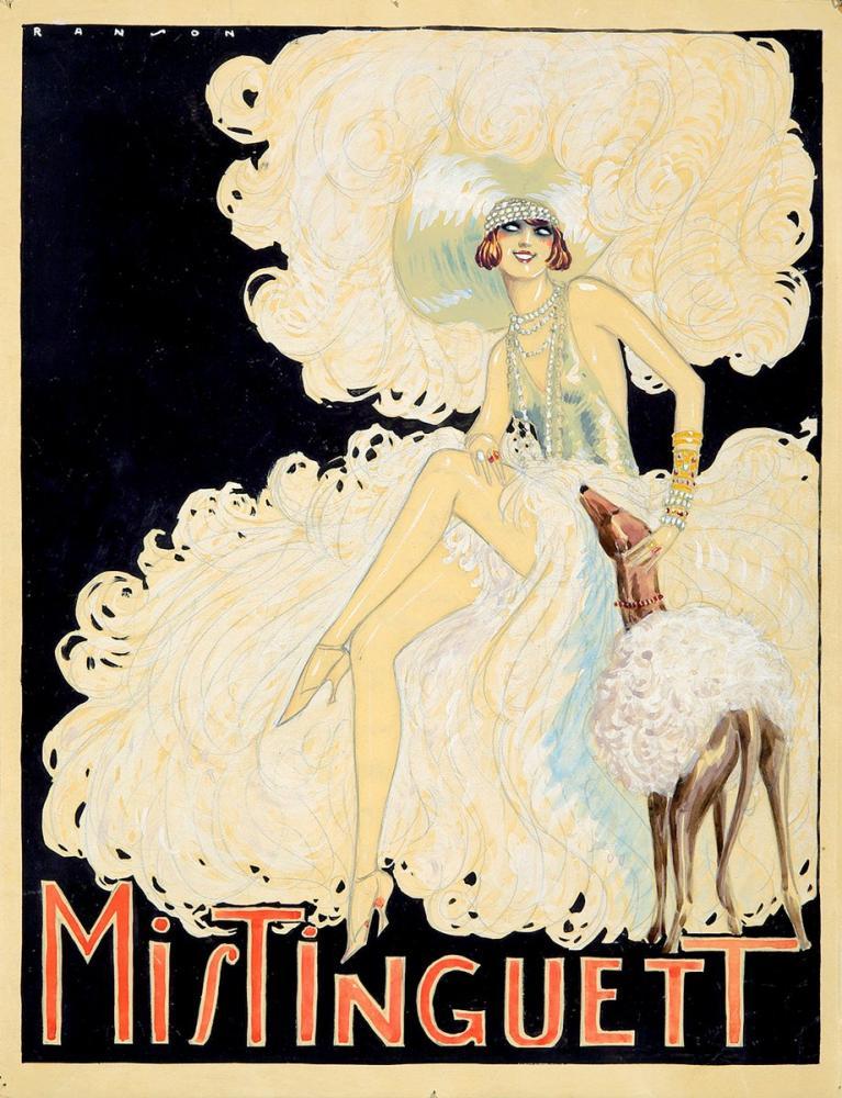 Mistinguett 3 Posteri, Opera, Tiyatro, Poster Satış, all posters, kanvas tablo, canvas print sales