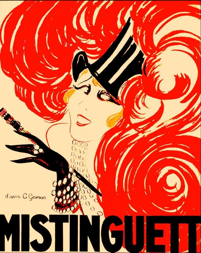 Mistinguett 4 Posteri, Opera, Tiyatro, Poster Satış, all posters, kanvas tablo, canvas print sales