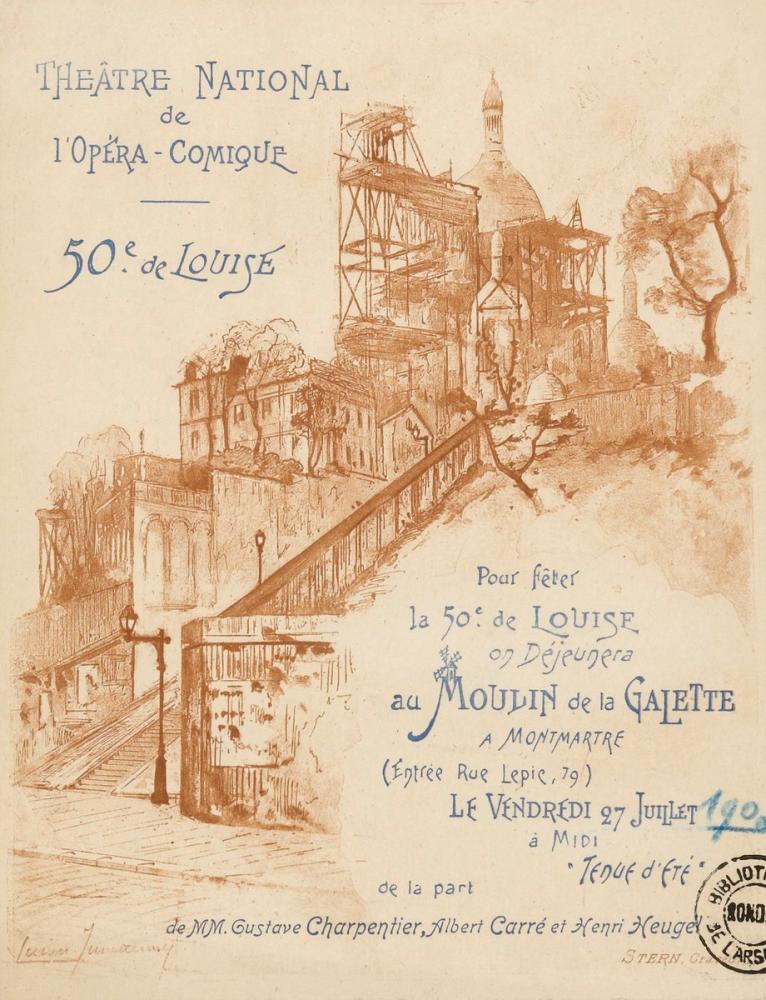 Moulin de La Galetta Opera Posteri, Opera, Tiyatro, Poster Satış, all posters, kanvas tablo, canvas print sales