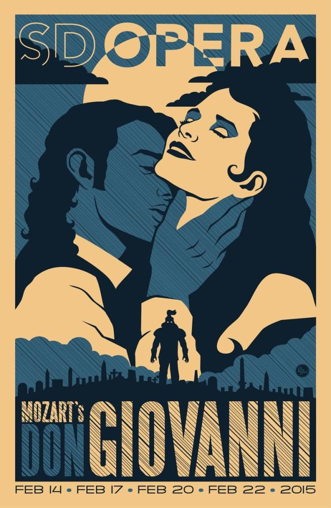 Mozart s Don Giovanni Poster, Opera, Theater, Poster Satış, all posters, kanvas tablo, canvas print sales