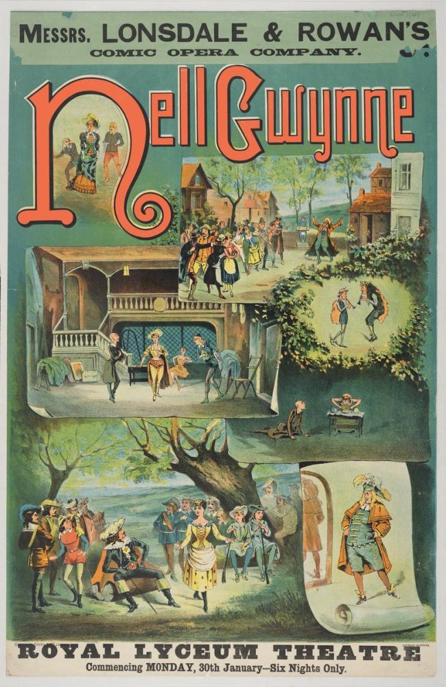Nell Gwynne Opera Poster, Opera, Theater, Poster Satış, all posters, kanvas tablo, canvas print sales