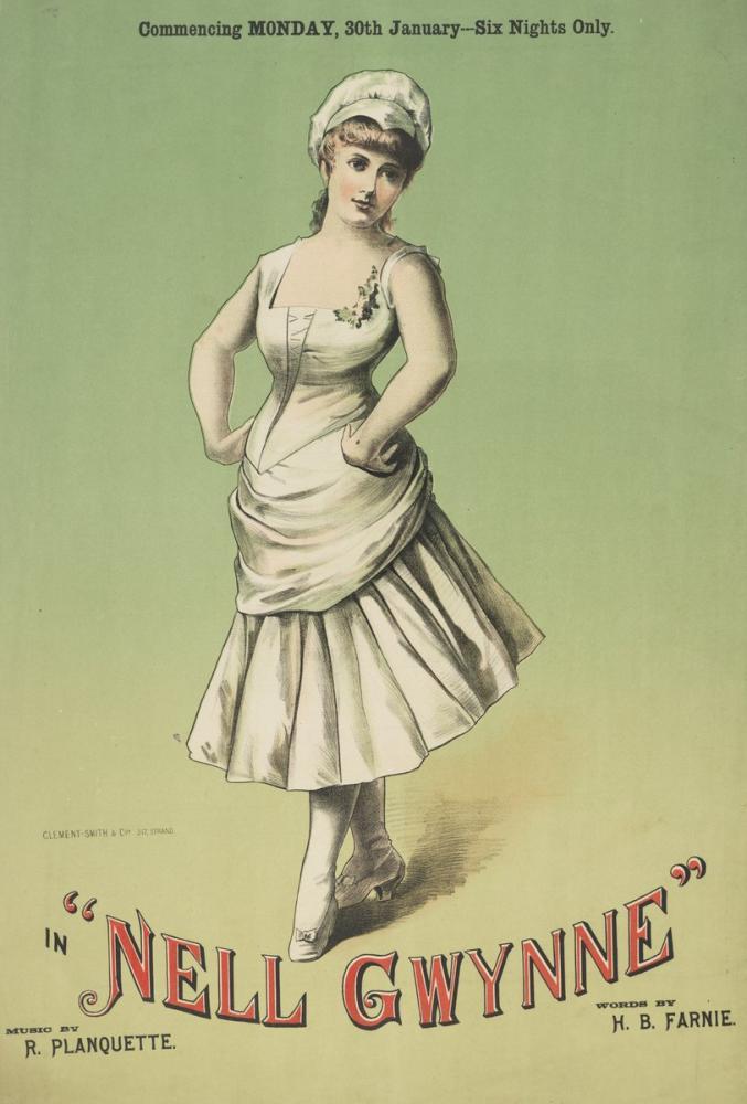 Nell Gwynne 2 Opera Poster, Opera, Theater, Poster Satış, all posters, kanvas tablo, canvas print sales