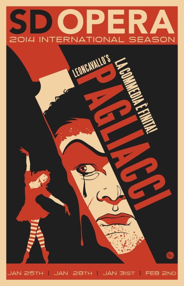 Pagliacci 3 Posteri, Opera, Tiyatro, Poster Satış, all posters, kanvas tablo, canvas print sales